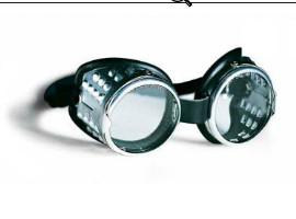 očala kovinska fi50